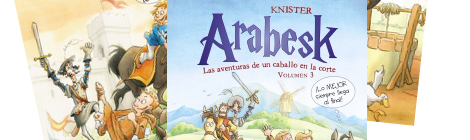 Arabesk. Las aventuras de un caballo en la corte