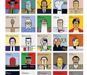 Grandes artistas modernos