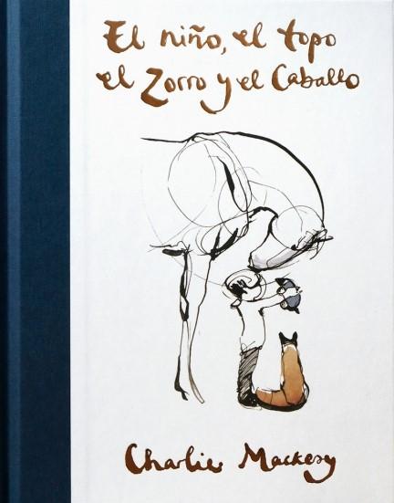 El niño el topo el zorro y el caballo obra de arte enmarcado-cualquier imagen disponible